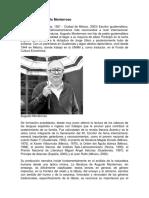 Biografía de Augusto Monterroso
