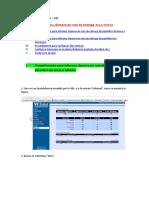 Manual Call - Procedimientos