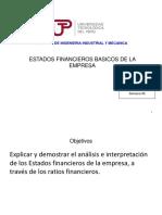 Semana 4 Estados Financieros Basicos de Empresa