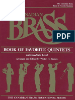 Book of Favorite Quintets Canadian Brass.pdf