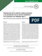 Satisfaccion de La Relacion Medico - Pacientes Diabeticos