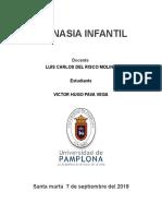 Universidad de Pamplona Talleres Gimnasia Infantil - Evaluacion en Educacion Fisica