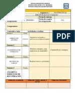Contrato Didáctico Matematicas III 16 17