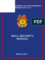 Mall Security Manual