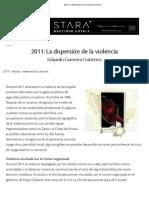 2011_ La Dispersión de La Violencia _ Nexos