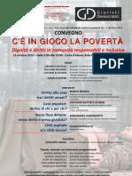 15.10.10 Padova. Convegno C'è in gioco la povertà