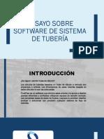 Ensayo Sobre Software de Sistema de Tubería