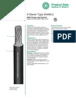 600V X-Olene XHHW-2 Copper Section3-Sheet3