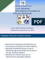 Sesion 11 Publico Objetivo y Estrategias de Cobertura Del Mercado