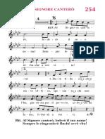 Al Signore Canterò PDF Rn254