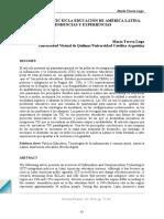 LECTUA 1 Las Politicas Tic en La Educacion de America Latina