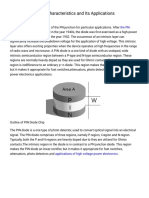 PIN Diode Working Characteristics and Its Applications.pdf