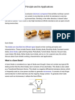 Gunn Diode Working Principle and its Applications.pdf