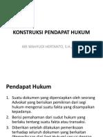 KONSTRUKSI PENDAPAT HUKUM.pptx