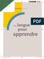 Une Langue Pour Apprendre