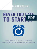 Never Too Late to Startup