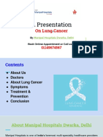 Manipal Hospitals Dwarka, Delhi- Lung Cancer