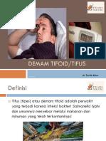 Health Talk Tifoid