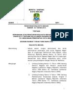 BD Perwal Nomor 4 Tahun 2015 Pola Karir Pns