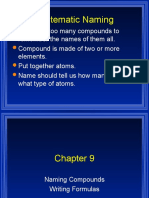 Chapter 9 Chemistry