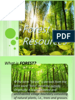 Forest Resoures