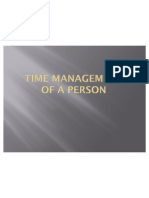 Time Management by DhinaJSN