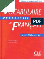 Vocabulaire Progressif Du Francais - Avec 250 Exercises