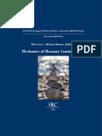 Mechanics of masonry construction