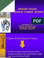 Uraian Tugas Perawat Kamar Bedah