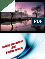 Casting Procedures