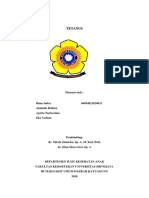 Status Case Tetanus