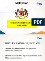 Chapter 3-The Constitution of Malaysia
