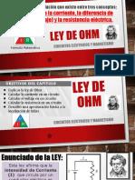 Ley de Ohm - Resumen