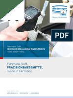 Steinmeyer - Katalog 2017 D, EN