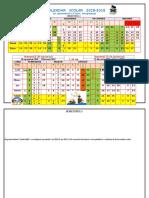 calendar scolar 2018-2019