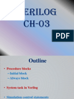 3.Verilog Ch-03 System Task Initial Always