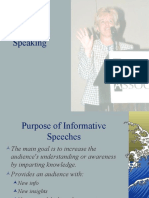Informativespeaking.ppt Lin -English Speaking Course Lucknow (CDI) – www.cdilucknow.blogspot.com