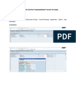 Deactivate Output Management S4 HANA