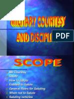 Military Courtesy Discipline IPs