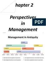 Chapter 2 Perspectives in Management