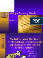 Multiple Meaning -English Speaking Course Lucknow (CDI) – www.cdilucknow.blogspot.com