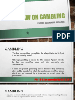 Report on Gambling