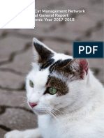 NTU Cat Management Network Annual General Report for Academic Year 2017/2018