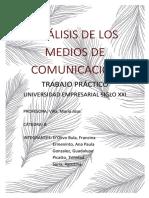 TP1 ANALISIS DE LOS MEDIOS DE COMUNICACION