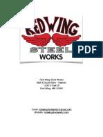 Steel Works Utility Trailer Plans (5x8)