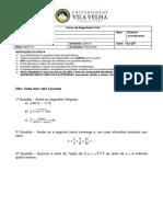 Final - Cálculo II - EC3M - Diego Henrique