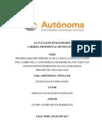 TESIS Perú Adaptacion y Propiedades Psicometricas de URICA