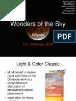 Wonders of the Sky Teaching Slides Eclipses