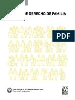 Manual de Derecho de Familia Juan Antonio Seda 1ra Edicion 2018