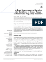 Gut-Brain Neuroendocrine Signaling Under Conditions of Stress